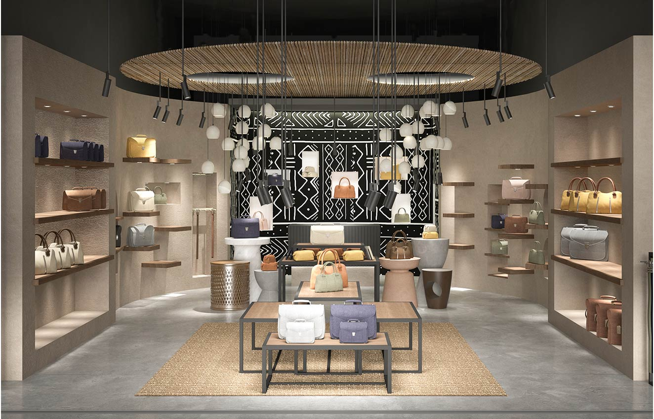 interior design born in africa retail store concept design