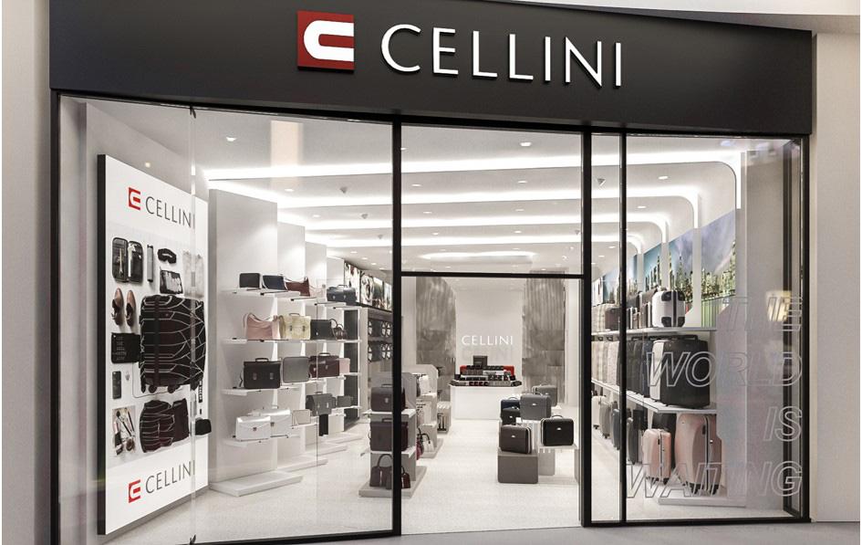 interior design cellini retail store